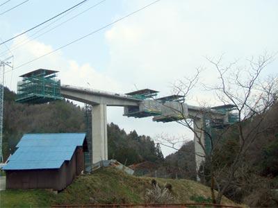 尾道松江線 三刀屋工区 飯石川橋