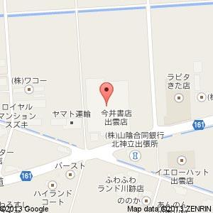 青杏+ 出雲店の地図