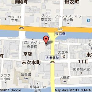 炙ダイニングISAYA(いさや)の地図