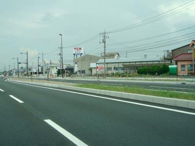 出雲バイパス 斐川町富村の始点部から神立交差点まで4車線化