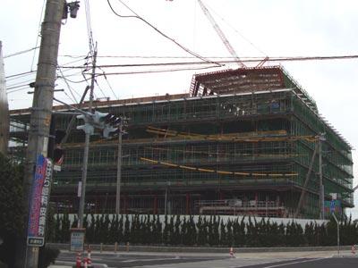 出雲市新庁舎建設工事