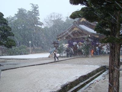 出雲大社に初詣2009
