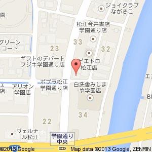 JECジャパンアイリストカレッジ 島根松江校の地図