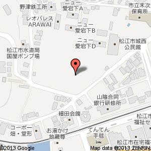 城西幼保園の地図