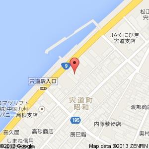 ジョイケア たいよう 松江店の地図