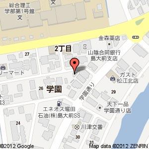 ラーメン横丁 じゅじゅの地図