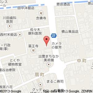 ジンギスカン じゅじゅの地図