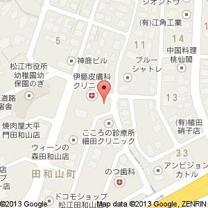 門脇耳鼻咽喉科医院の地図