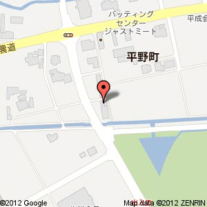 カレーの店 かじ屋の地図