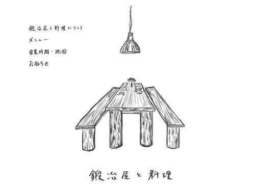 鍛冶屋と料理