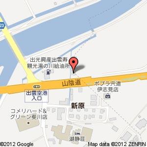 かみあり製麺の地図