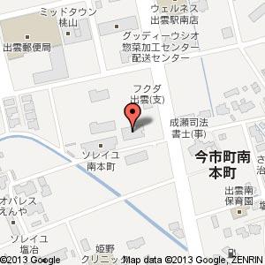 神戸唐唐亭 出雲店の地図