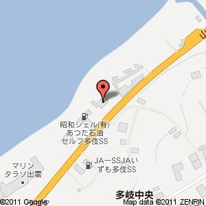 拉麺屋 神楽 出雲多伎店の地図