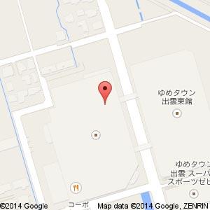 果汁工房 果琳 ゆめタウン出雲店の地図