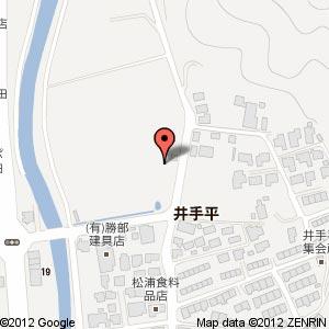 カタセイバイキングレストラン(仮称)の地図