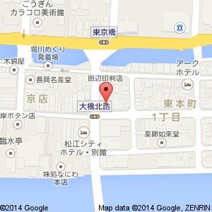 川端寿しの地図