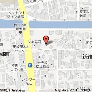 グループホーム本郷の地図