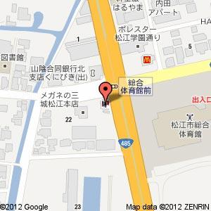 ケンタッキーフライドチキン 松江店・ピザハット松江店の地図