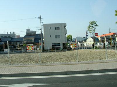 ビジネスホテル北松江と都谷病院の跡地