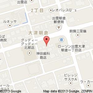 ば~る ここぺり(移転先)の地図