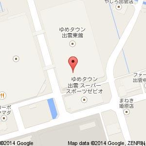 ココロン ゆめタウン出雲店の地図