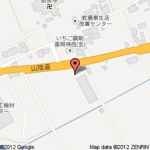 コメリ ハード&グリーン 神西店の地図