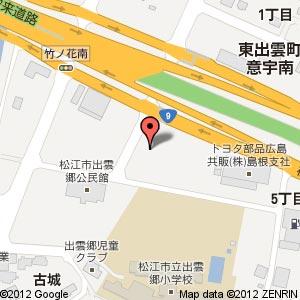 「東出雲 高齢者向け住宅」の地図