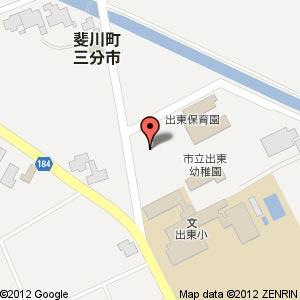 グループホーム 出東ララの地図