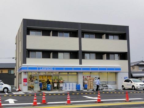 ローソン松江上乃木店 本日移転オープン