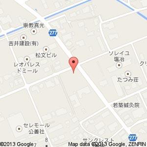 ローソン 塩冶店の地図