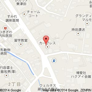 ローソン 松江東津田町南店の地図