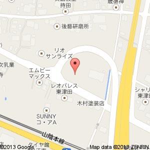 ローソン 松江ガーデンコート店の地図