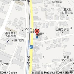 ローソン 松江浜乃木一丁目店の地図