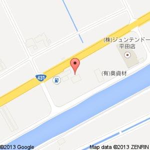 ローソン 出雲平田町店の地図