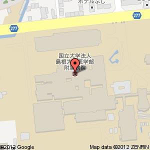 ローソン島根大学病院店?の地図