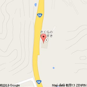 ローソン きすき道の駅店の地図