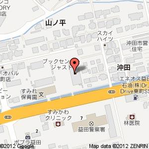 ローソン 益田東町店の地図