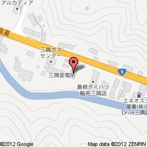 ローソン 浜田三隅店の地図