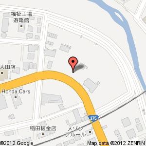 ローソン 大田長久町南店の地図