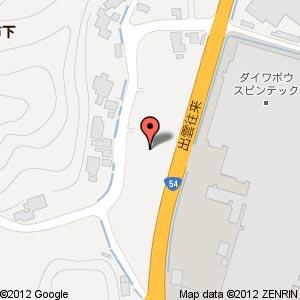 ローソン 宍道佐々布店?の地図