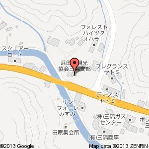 ローソン S浜田三隅店の地図