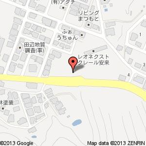 ローソン 安来黒井田町店の地図