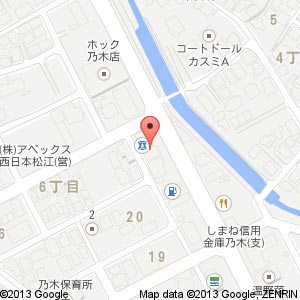 hair salon LIMの地図