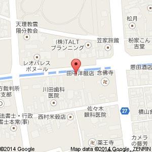 Cafe LINQ Takasegawaの地図