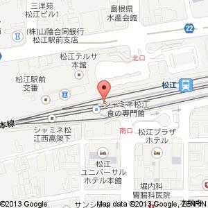 リトルマーメイド シャミネ松江店の地図