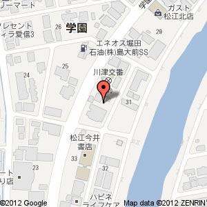 まごころ弁当 松江店?の地図
