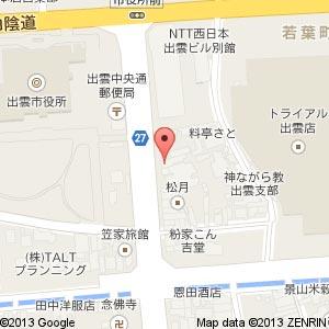 おうちごはんカフェ 豆花の地図