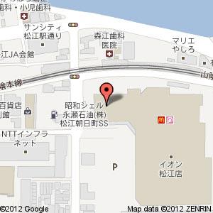 ファミリーバイキング豆乃畑 松江店の地図