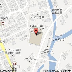 丸合川津店内 パンタジー 川津店の地図