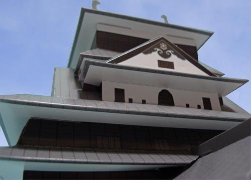 松江城ペーパークラフト